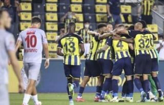Fenerbahçe, Antalyaspor'u 2-0 yendi