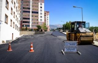 Güneşevler Mahallesinde Sokak yenileme çalışmaları...