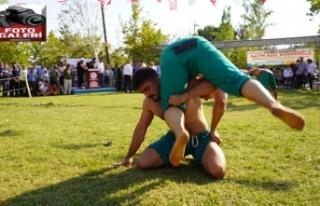 Güreş'in kalbi Pazarcık'ta attı