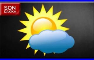 Hava durumu parçalı ve az bulutlu geçecek