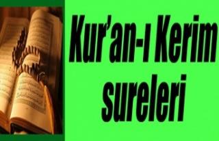 Kur'an-ı Kerim Sureleri: 77-el-MÜRSELÂT