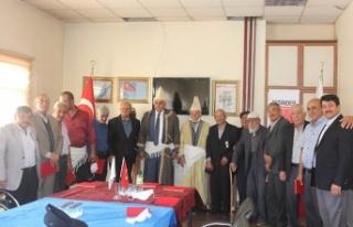 """Afşin'de """"taksicilere vefa"""" programı düzenlendi!"""