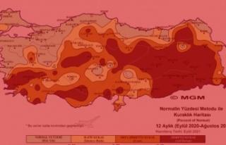 Ağustos ayı 'şiddetli kurak' yaşandı