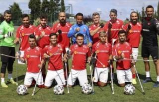 Ampute Milli Futbol Takımı, Avrupa Şampiyonası'ndaki...