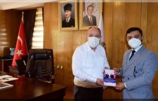 Azerbaycanlı Şahbazlı, Vali Coşkun'u ziyaret...