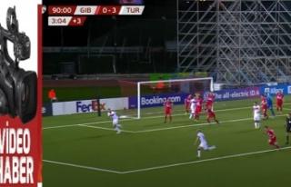 Cebelitarık – Türkiye maçının özeti