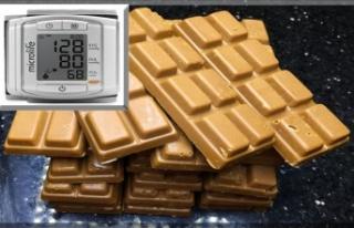 Çikolata tansiyon düşürüyor