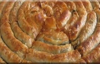 Çıtır çıtır peynirli tepsi böreği tarifi