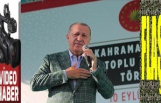 Cumhurbaşkanı Erdoğan, 106 tesisi hizmete açtı