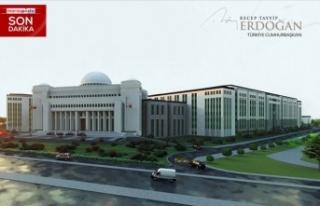 Erdoğan yeni Yargıtay binasına ilişkin detayları...