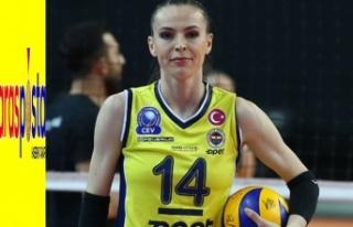 Fenerbahçeli Eda Erdem Dündar'dan tarihi rekor