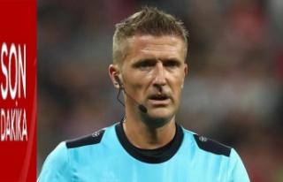 Hollanda-Türkiye maçını Daniele Orsato yönetecek