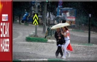 Karadeniz'deki kuvvetli sağanak yağışlara dikkat!