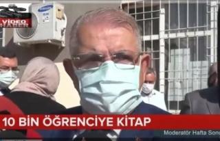 """Onikişubat Belediyesi,24 TV """"Moderatör Hafta Sonu""""ndaydı"""