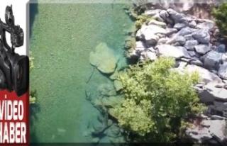 Onikişubat'ın güzelliklerinden Kanlıbüvet Kanyonu