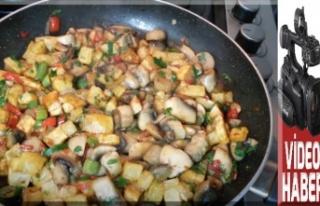 Patatesli mantar sote nasıl yapılır?