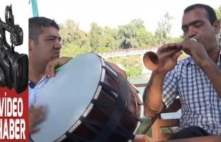 Tarsus Barajında Yusuf Ateş'ten Şov