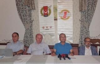 """TGF Genel Başkanı Yılmaz Karaca """"Gazeteciler..."""