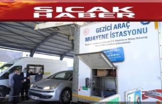 TÜV TÜRK Gezici İstasyonu, Dulkadiroğlu'nda...