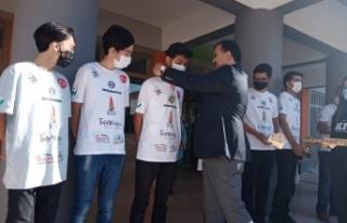 Yusuf Kahraman, Kahramanmaraş Fen Lisesi Pusula roket...