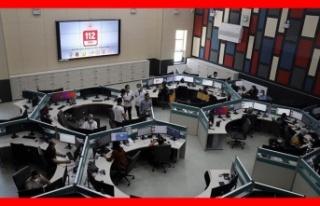 112 acil çağrı merkezleri cevaplıyor