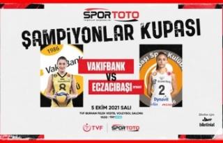 2021 Kadınlar Spor Toto Şampiyonlar Kupası sahibini...