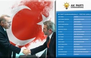 AK Parti İl Yürütme Kurulu'nda değişiklik...
