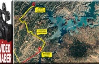 Ali Kayası'na ulaşım için yeni yol yapılıyor