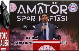Amatör Spor Haftası açılış töreni ile başladı