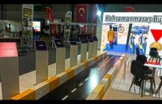 Büyükşehir'in hizmetleri EXPOBEL'de ilgi odağı...