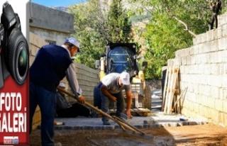 Dulkadiroğlu'ndan Dereli'ye asfalt ve kilit parke...