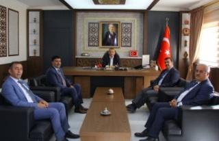 İl Millî Eğitim Müdürü Dulkadiroğlu'nda ziyaretlerde...