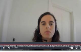 """KİÜ'de """"Davranışsal Bağımlılık"""" konferansı"""