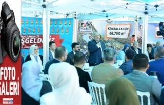 Mahçiçek, AK Parti İlçe Teşkilatıyla bir araya...