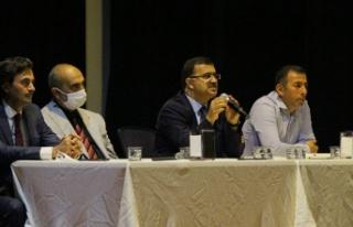 Onikişubat'ta okul müdürleri ile toplantı gerçekleştirildi
