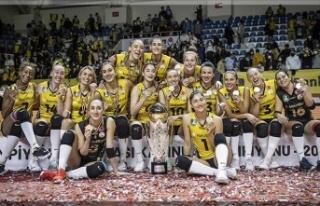 Spor Toto Şampiyonlar Kupası VakıfBank'ın...