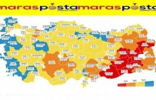 Türkiye'nin batı kıyısındaki şehirler aşılamada...