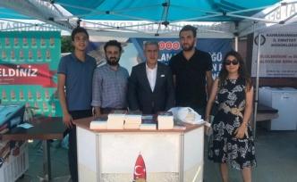 KSÜ'de Onikişubat Belediyesi standına yoğun ilgi