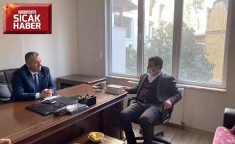 Okumuş'tan BBP Genel Başkan Yardımcısı Yardımcıoğlu'na ziyaret
