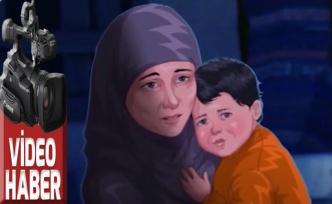 Çocuğuyla sokakta kalan dul kadının başına neler geldi?