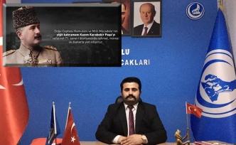 Ülkü Ocakları, Kazım Karabekir Paşa'yı andı..