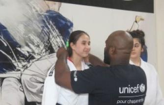 Dünya şampiyonundan şampiyon judoculara madalya