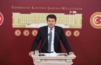 CHP'Lİ TUTDERE, HIZLI TREN'İ SORDU