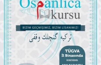 OSMANLICA DERSLERİ BAŞLIYOR