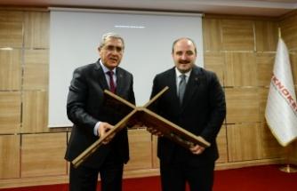 VARANK, KAHRAMANMARAŞ TEKNOKENT'İ ZİYARET ETTİ