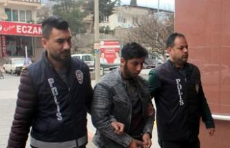 19 yaşında televizyon hırsızlığından tutuklandı