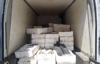 Bin 800 kilo kaçak balık ele geçirildi