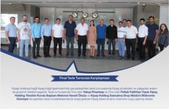 Kipaş Holding Ailesi Tavla Turnuvası'nda bir araya geldi