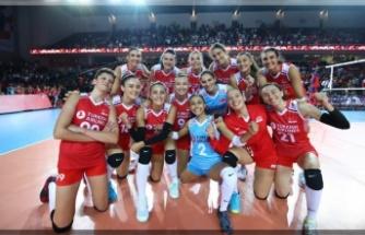 Filenin Sultanları, Avrupa Şampiyonası'nda 2'de 2 Yaptı