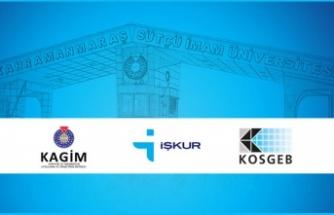 """KSÜ KAGİM- İŞKUR """"Girişimcilik Eğitimleri"""" büyük ilgi gösterdi"""
